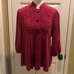 Beautiful fucsia top NWT by Nicole Miller